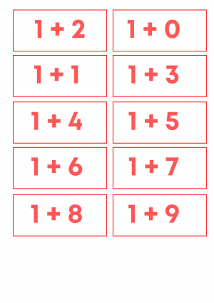Voorbeeld uit: Flitskaarten tot 10.pdf