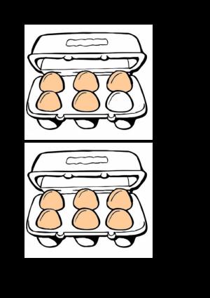 Voorbeeld uit: paaseieren in doosjes